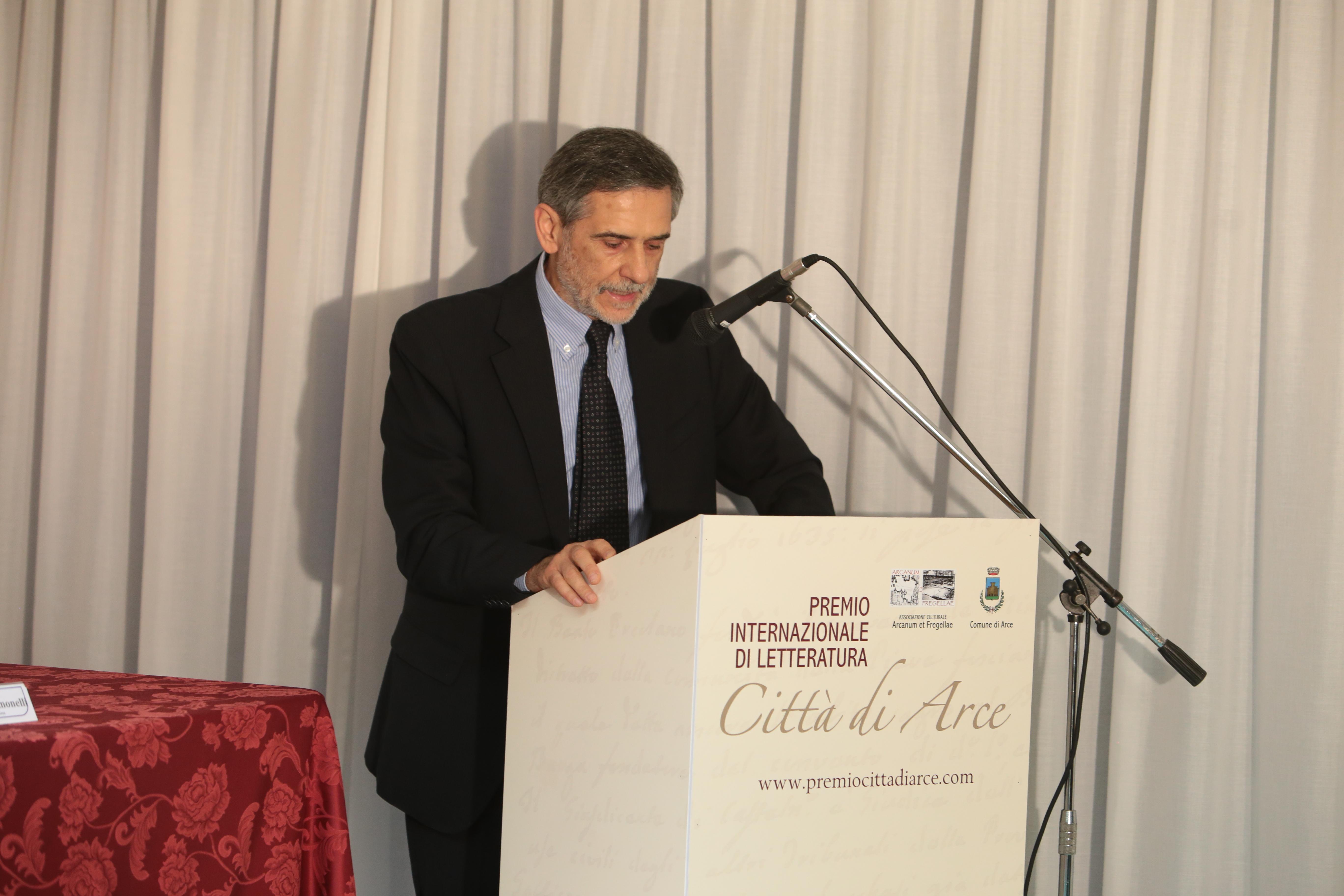 Il sindaco di Arce Roberto Simonelli